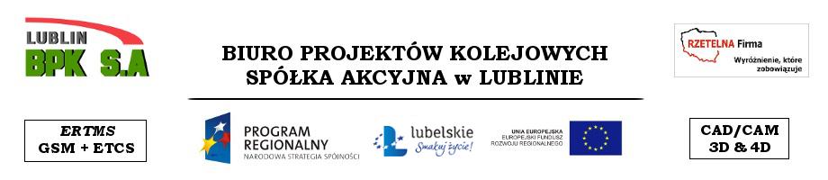 Biuro Projektów Kolejowych S.A. w Lublinie